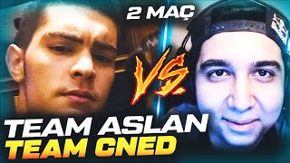 TEAM AsLanM4shadoW VS. TEAM cNed | 2 MAÇ 1 VİDEO
