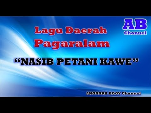 Lagu Daerah Pagaralam NASIB PETANI KAWE