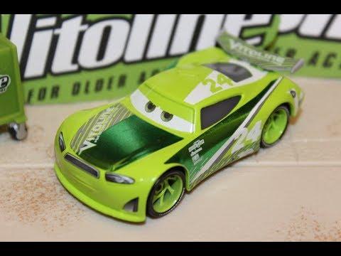 Mattel Disney Cars 3 Chase Racelott Next Gen Vitoline 24 Elliot