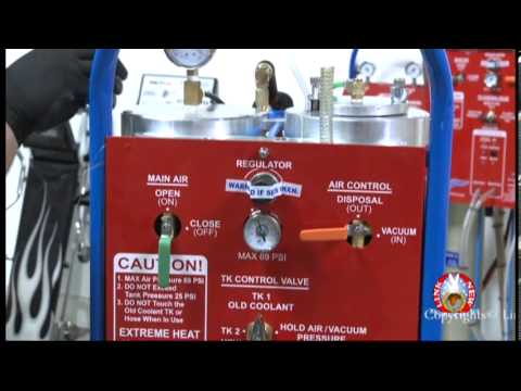 The Best Coolant Flush Machine In The World