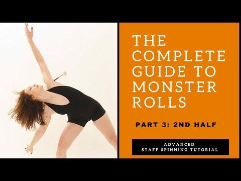 Contact Staff Spinning Tutorial: Monster/Matrix Rolls Part 3