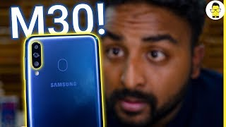Samsung Galaxy M30 Unboxing, hands-on review, and camera samples