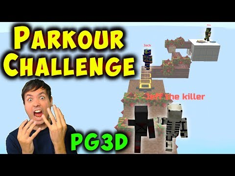 Multiplayer PARKOUR CHALLENGE - Pixel Gun 3D Fun Gameplay PG3D