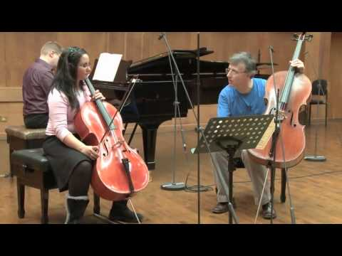 Masterclass with Raphael Wallfisch (Emunah Kelamen, cello)