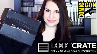 Loot Crate Unboxing | *Creature Crate* EXCLUSIVE SDCC 2015