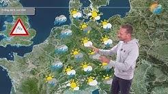 """Das aktuelle Wetter für Freitag, den 5. Juni 2020: Auf in ein """"herbstliches"""" Wochenende mit Wind."""