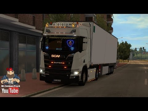 [ETS2 v1 30] Mighty Griffin DLC for New Scania Generation R & S