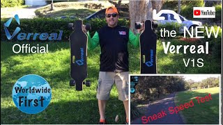 New Verreal V1S Official Unboxing and First Ride Andrew Penman EBoard Reviews Vlog No 72