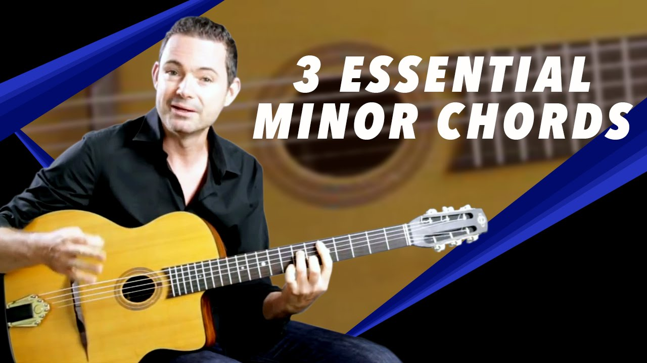 3 Essential Minor Chords For Gypsy Jazz Guitar Youtube