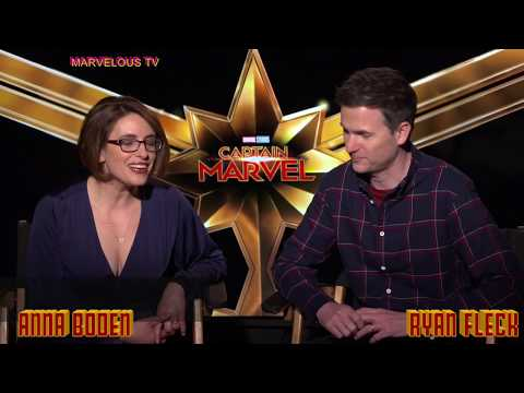 """Captain MARVEL""  Directors Anna Boden & Ryan Fleck"