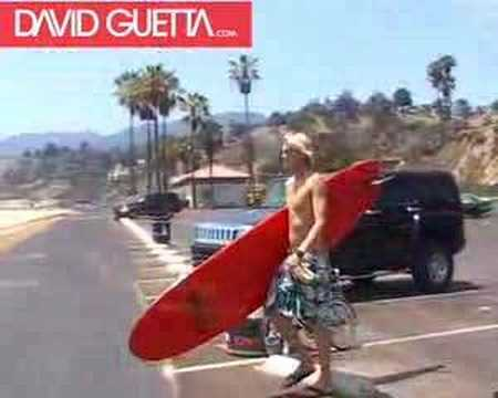 david guetta -  baby when the light - making of clip
