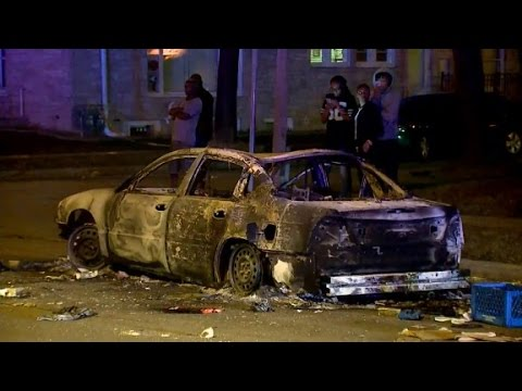 Violence erupts in Milwaukee after police shooting
