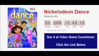 Nickelodeon Dance Wii Countdown