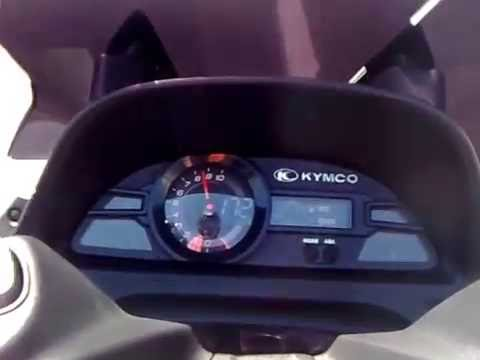 kymco xciting 400i max speed 172km youtube. Black Bedroom Furniture Sets. Home Design Ideas