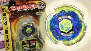 Cosmic Pegasus F:D HYPERBLADE SPARK FX UNBOXING & REVIEW - (BB-105-FX) Beyblade Metal Fury Hasbro