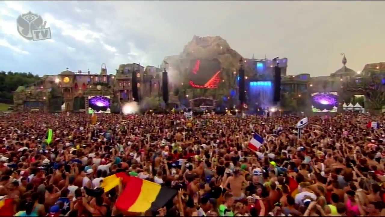 Hardwell Live @ Tomorrowland 2013 - Alesso YEARS - Martin Garrix ANIMALS