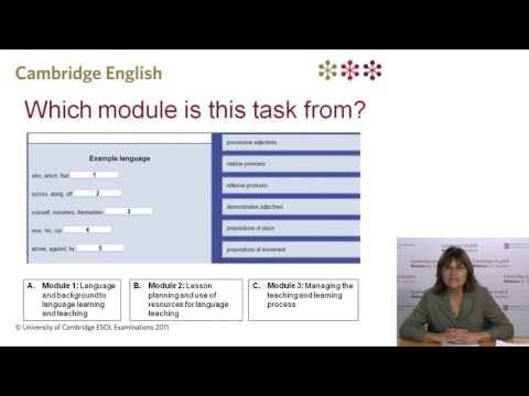 Introducing the Teaching Knowledge Test (TKT)