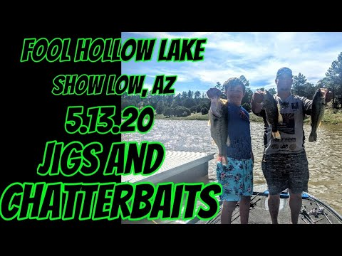 Fool Hollow Lake - 5.13.20 - Chatterbaits and Jigs