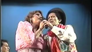 Amanda Portales y Eusebio Chato Grados- PIO PIO EN VIVO - Teatro Segura - Lima 2006