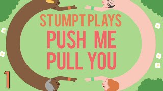 Push Me Pull You - #1 - Joined at the Waist (4 Player Gameplay)