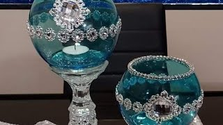 Diy How to tint glass (Candle holders)