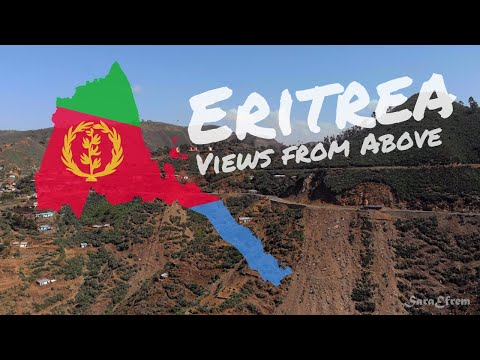 Eritrea 4K Drone Footage