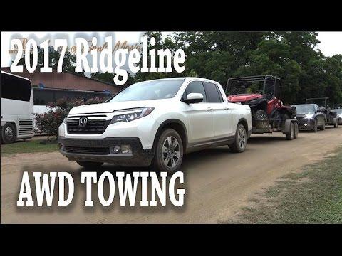 2017 honda ridgeline towing