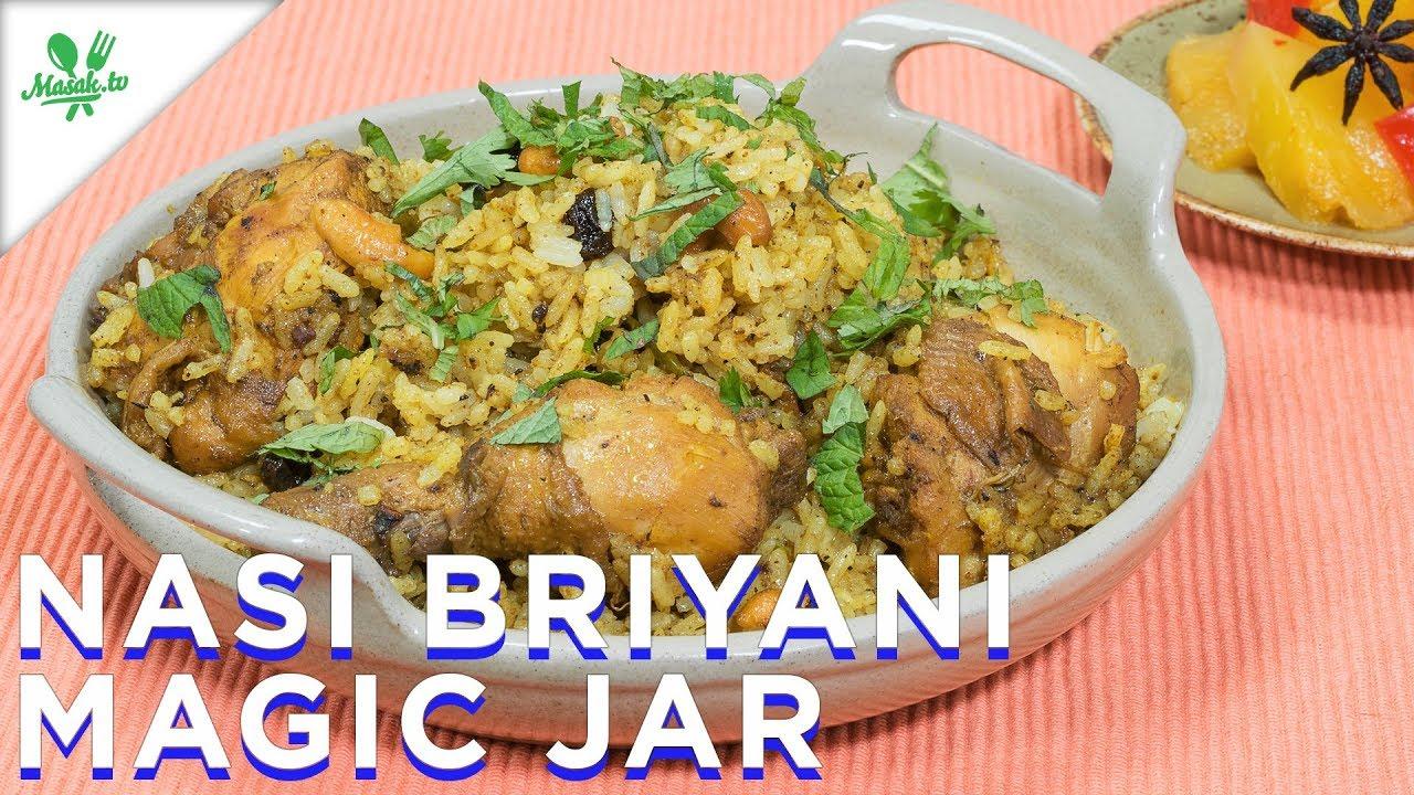 Cara Masak Nasi Briyani Ayam - Hans Cooking Recipes