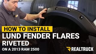 How To Install Lund Riveted Fender Flares - Rocks The Ram Build