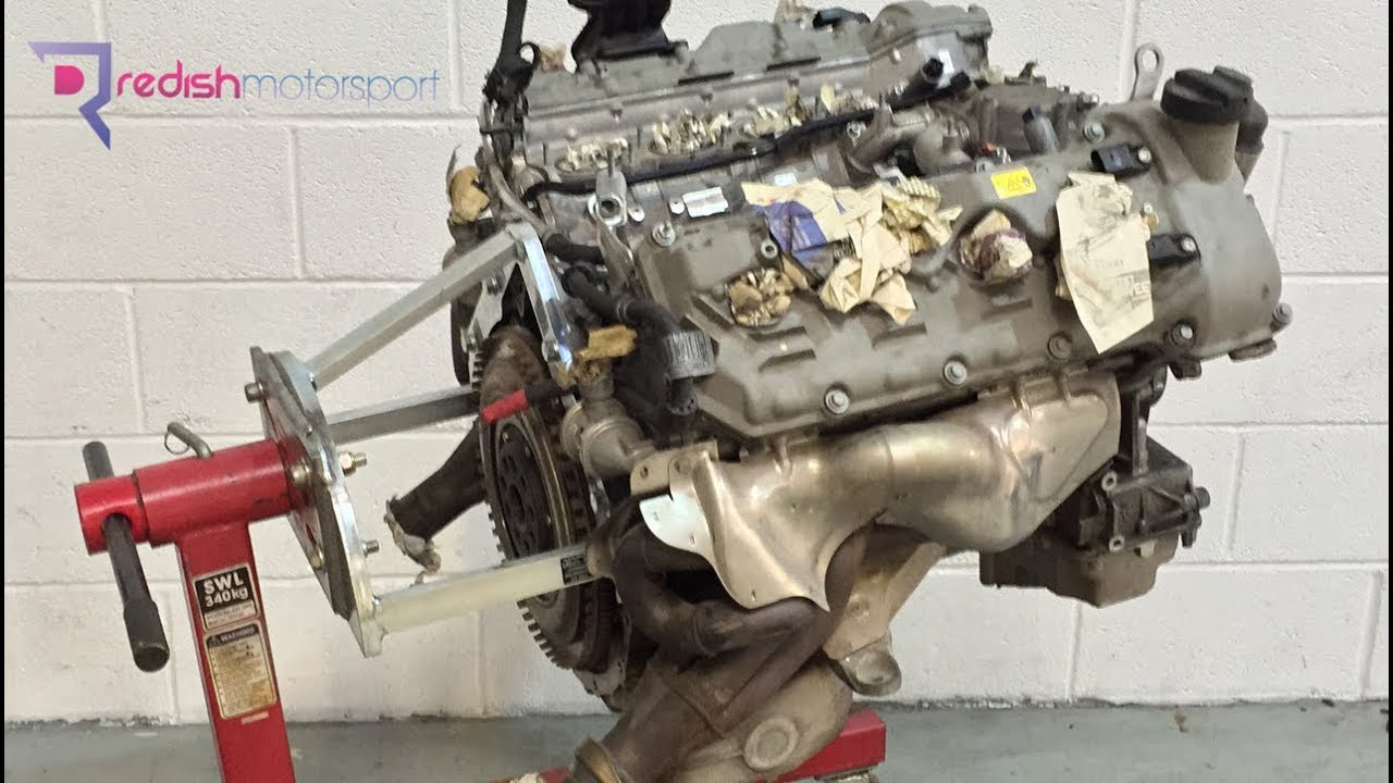 BMW E92 M3 S65 Engine 2011 seized due to conrod bearing failure
