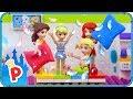 ♥ LEGO Disney Princess SLEEPOVER with Ouija Board at Elsa's Home