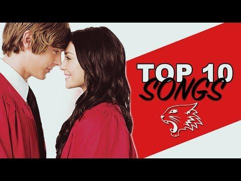 Top 10 BEST High School Musical Songs!!