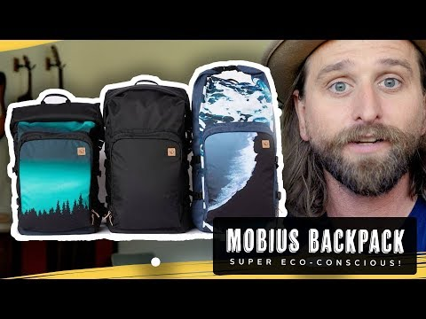 MOBIUS ECO FRIENDLY BACKPACK REVIEW