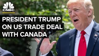 LIVE: President Trump Delivers Remarks on the US trade deal with Canada - Oct. 1, 2018