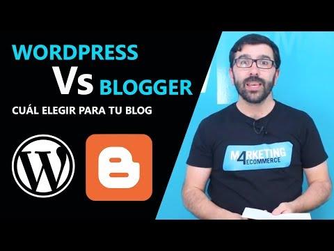 Blogs blogger wordpress