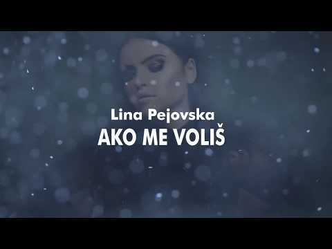 Lina Pejovska - Ako me voliš LYRICS