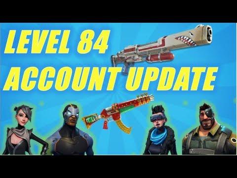 Level 84 Account Update Fortnite StW