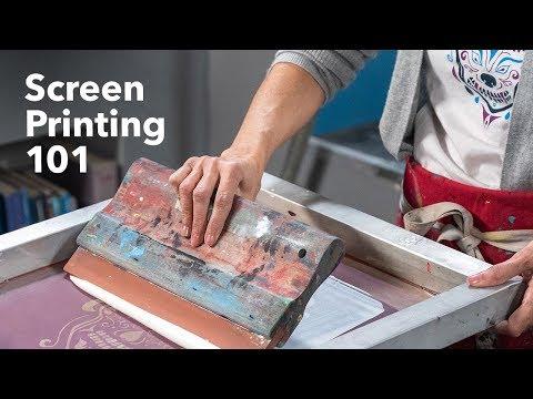 Printmaking Art | The Basics of Screen Printing