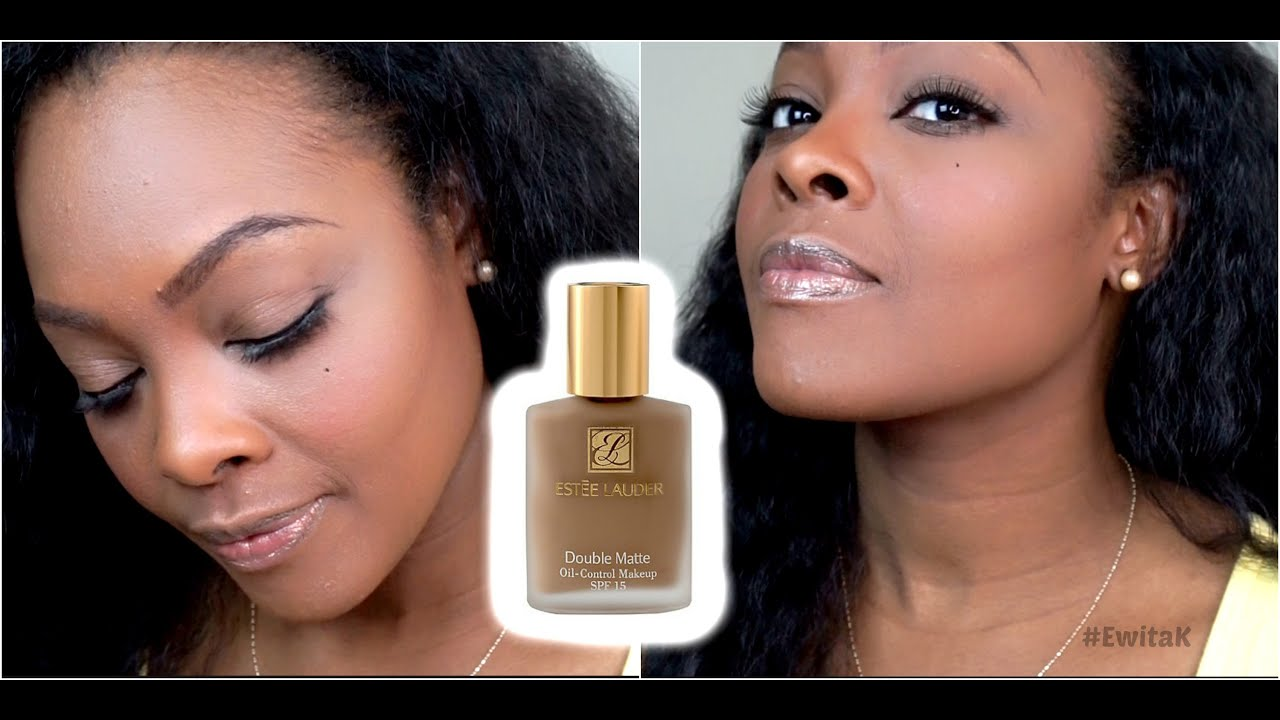 Estee Lauder Double Matte Foundation Warm Ginger Wiww