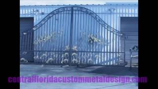 Wrought Iron Custom Metal Work Design Service In Tampa Florida