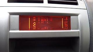 Peugeot 407 - výměna LCD displeje
