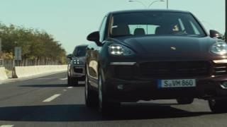 Porsche Cayenne  Driver assistance
