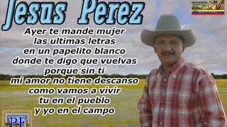 Jesus Perez - Papelito Blanco