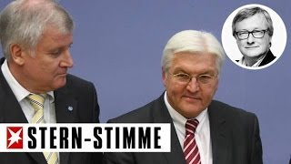 Gauck-Nachfolge: Seehofer sollte Steinmeier wählen! | KLARTEXT (Kommentar)