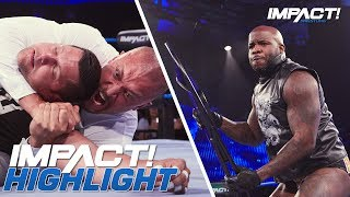 Moose Returns to Save Edwards from Aries & Kross | IMPACT! Highlights Aug 23, 2018