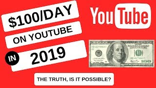 Make $100 a Day on Youtube Without Making Videos | 2019 Easy Money Online