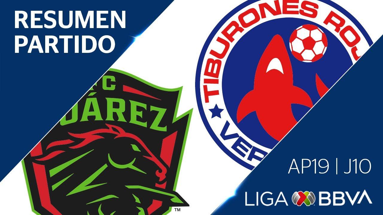 Resumen y Goles | Juárez vs Veracruz | Jornada 10 - Apertura 2019 | Liga BBVA MX
