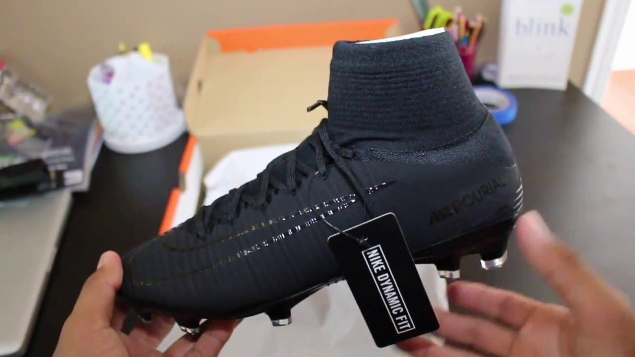 newest a5963 64dc5 Nike Mercurial Superfly 5 (Academy Pack) Blackout! - Unboxing