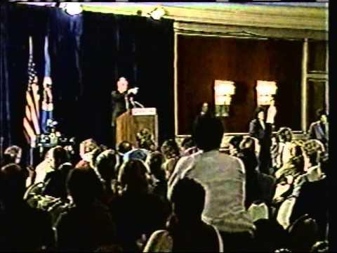 Mondale post-defeat Press Conference '84