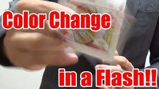 Color Change Card Trick Revealed